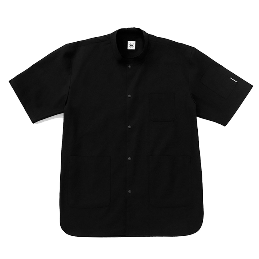 CHEF SHIRTS : SHORT SLEEVES (BLACK)