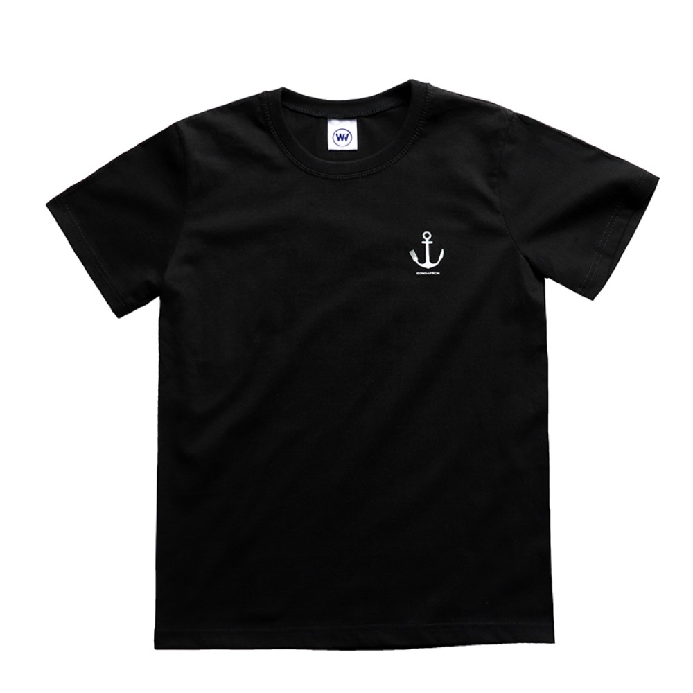 ANCHOR T-SHIRTS (BLACK)