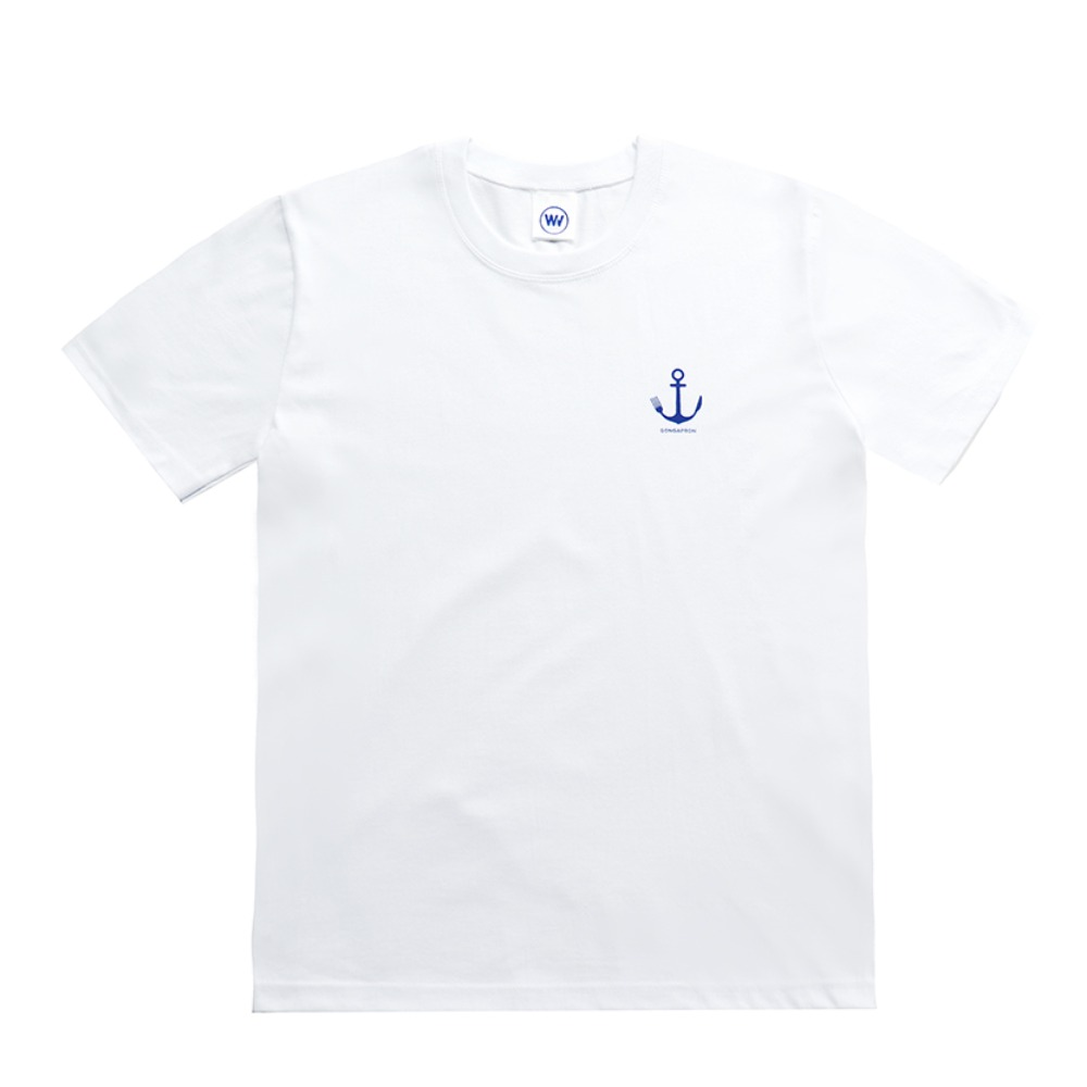 ANCHOR T-SHIRTS (WHITE)