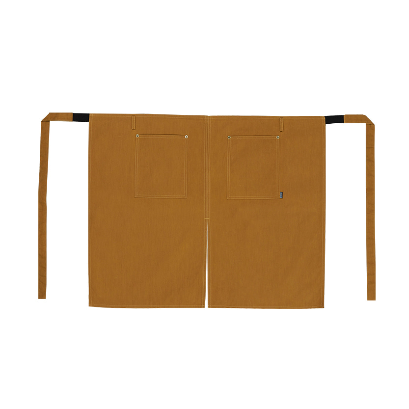 HALF APRON (SAFARI BROWN)